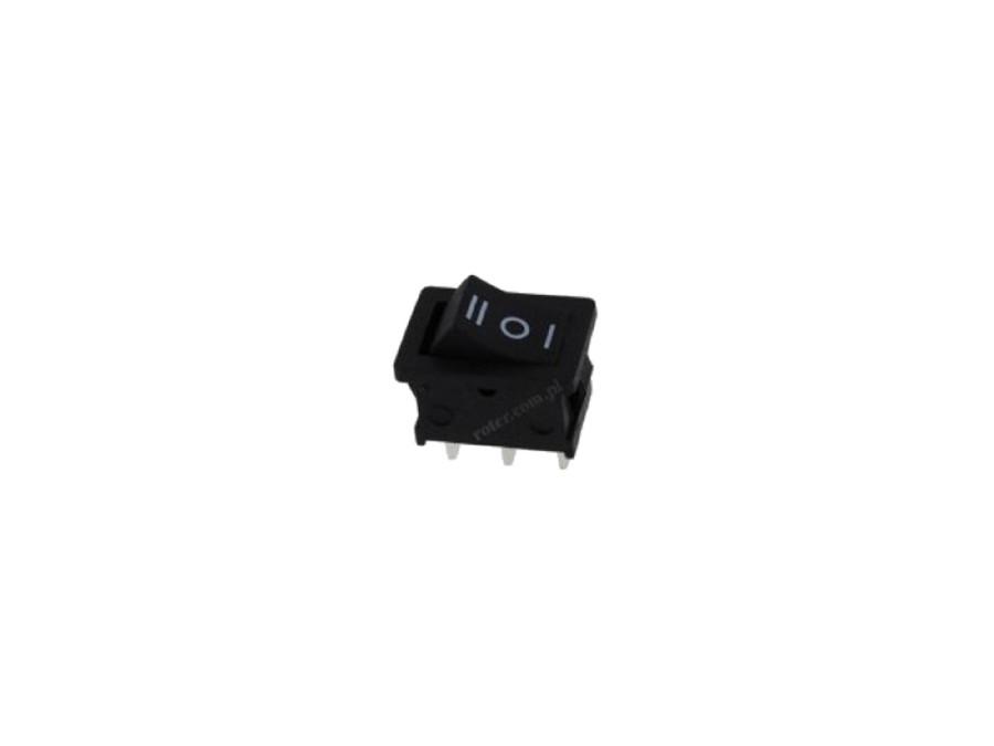 Przełącznik Klawiszowy 3 pozycje 3 pin czarny