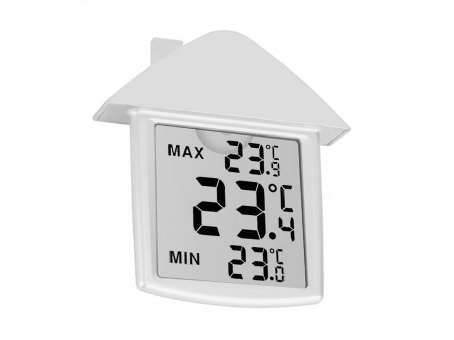 Termometr cyfrowy wewnętrzno-zewnętrzny TA25