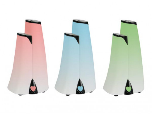 Ultradźwiękowy nawilżacz powietrza z rozpylaczem aromatów