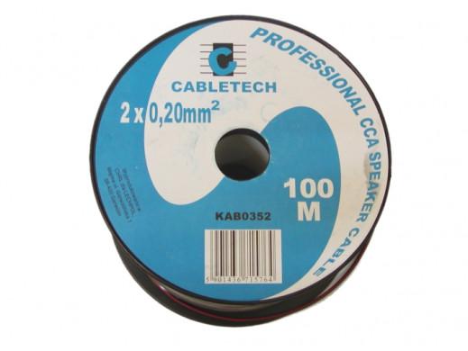 Kabel głośnikowy 2*0.2mm...