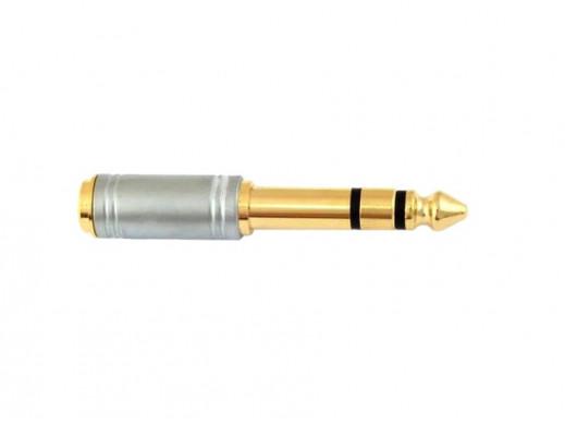 Redukcja 6,3mm wtyk jack/gn...