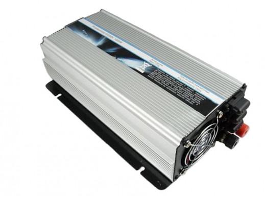 Przetwornica samochodowa 12V/230V 1000W Sim-1000M