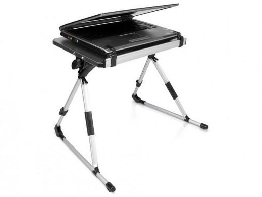 Stolik pod laptopa czarny