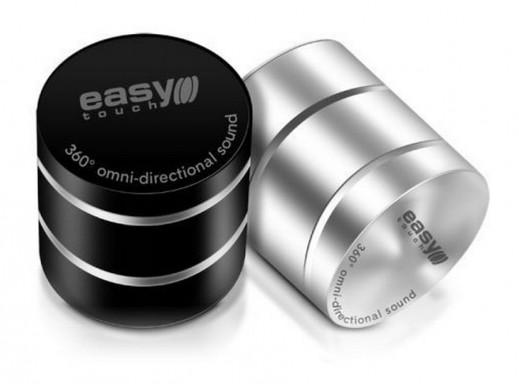 Głośnik komputerowy wibracyjny 360st ET-5008 Dancer USB/microSD srebrny