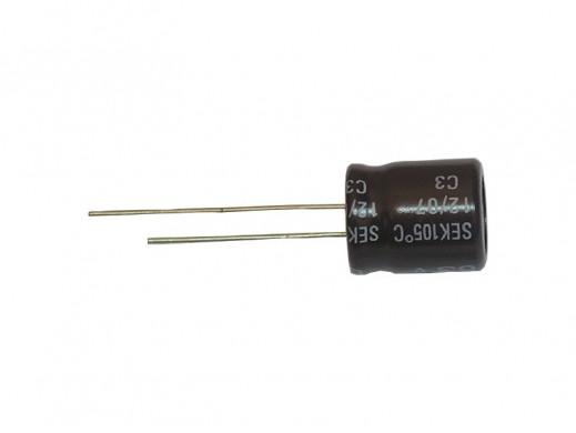 Kondensator elektrolityczny 100uF 50V 105C