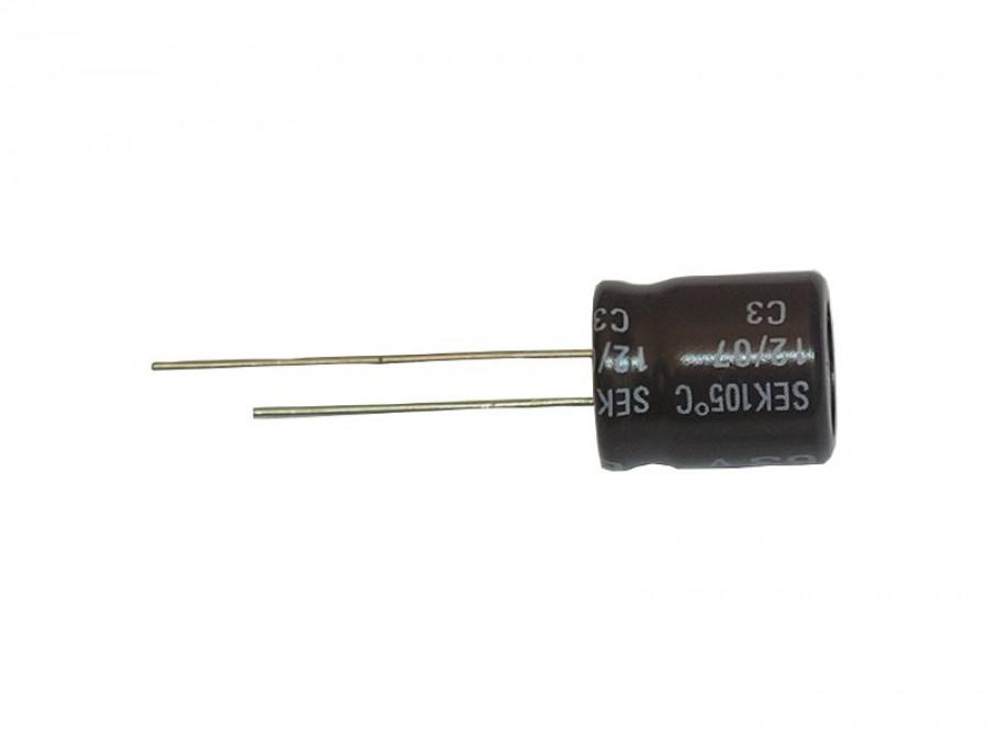 Kondensator elektrolityczny 100uF/50V 105C