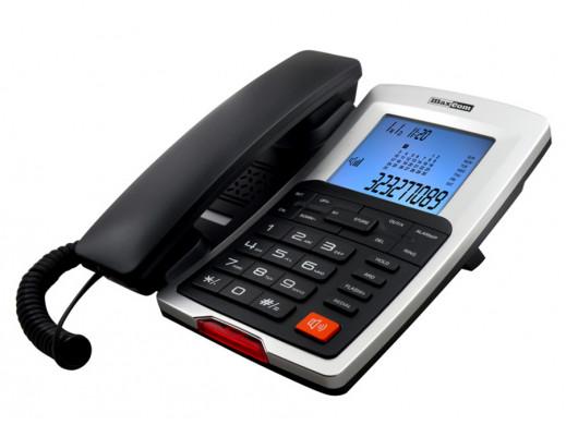Telefon przewodowy KXT709...