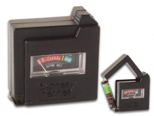 Kieszonkowy tester baterii...