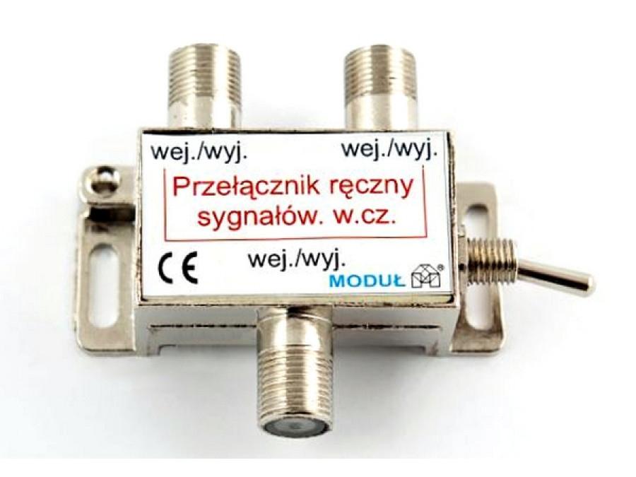Przełącznik konwertera DISEq Ręczny