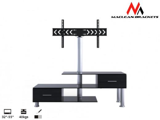 "Stolik RTV z uchwytem do LCD Maclean MC-558 32-50"" 50kg"