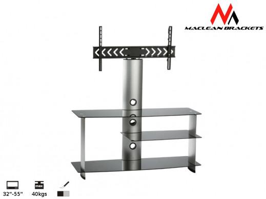 "Stolik RTV z uchwytem do LCD Maclean MC-559 32-50"" 40kg"
