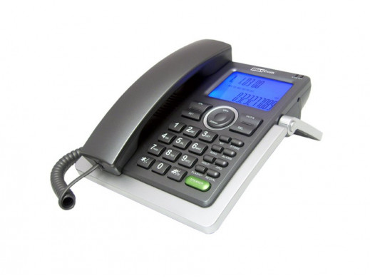 Telefon przewodowy KXT801...