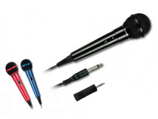Mikrofon dynamiczny MIC1 HQ Power czerwony