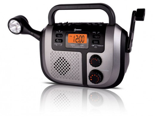 Radio dynamo budzik latarka OV-BB-310 Overmax