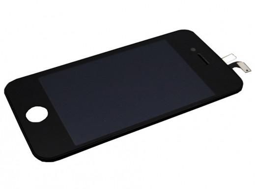 Wyświetlacz LCD iPhone 4G + dotyk oryginał czarny