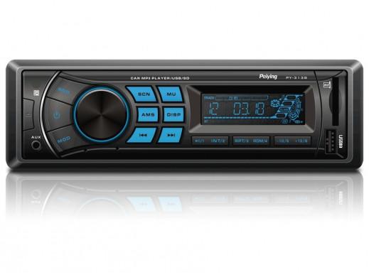 Radioodtwarzacz samochodowy PY3138 MP3/USB/SD/MMC Peiying