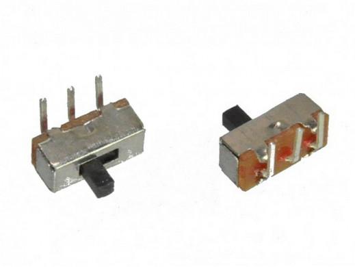 Przełącznik suwakowy 2 pozycje 3 pin mini SK37