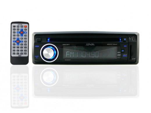 Radioodtwarzacz samochodowy S3281 DVD/MP3/USB/SD Sonda