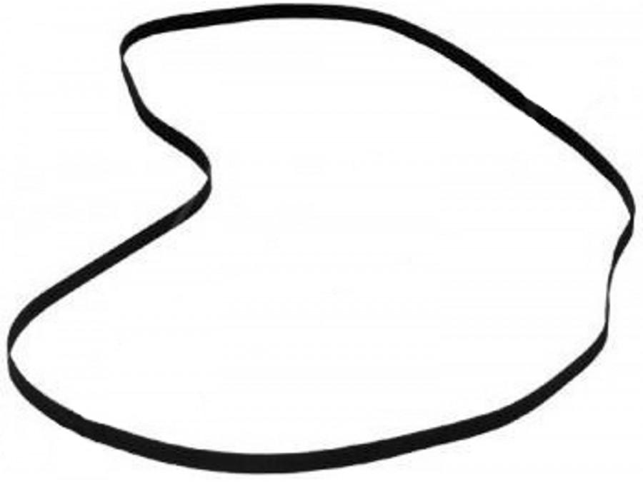 Pasek gumowy płaski grubość 0,5mm średnica 76mm szerokość 3mm 0,5*76*3mm