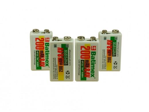 Akumulator R-9V 200mAh LSD (Low self discharge) BATIMEX
