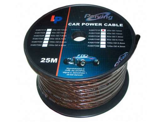 Kabel samochodowy 2GA...
