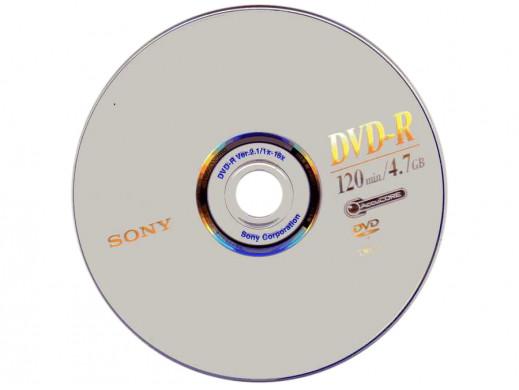 Płyta DVD+R Sony 4,7GB/120min. bez opakowania