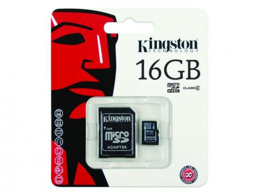 Karta pamięci micro SDHC...