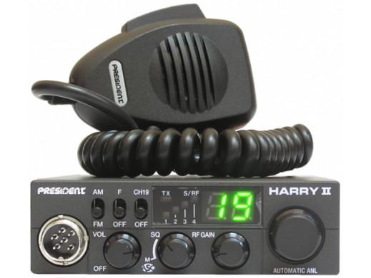 RADIO CB PRESIDENT HARRY II...