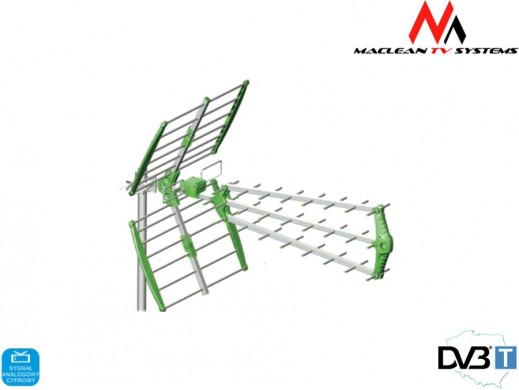 Antena TV DVB-T zewnętrzna Maclean MCTV-975 Green