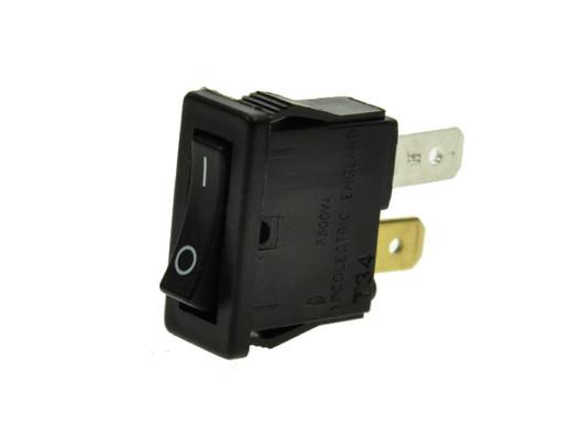 Przełącznik klawiszowy ON-OFF 2 pozycje 2pin 10A 250V mały H8800VB