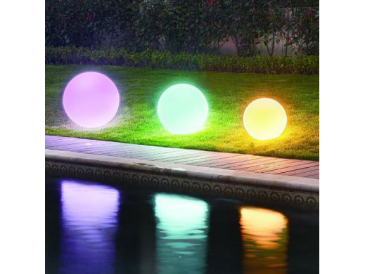 Lampa LED Ball 30cm DMX RGB 125 diod 40x57x28