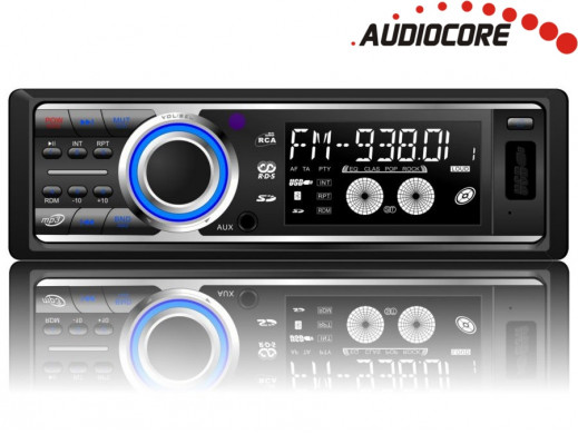 Radioodtwarzacz Audiocore AC9247B MP3/WMA/USB/SD
