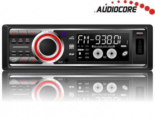 Radioodtwarzacz Audiocore AC9247R MP3/WMA/USB/SD