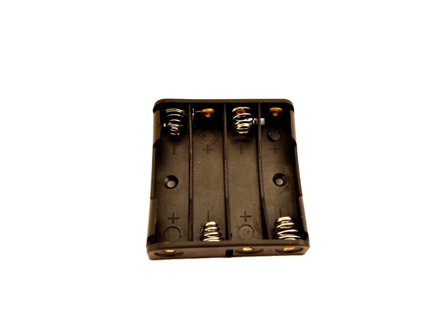 Pojemnik na baterie 4*R3 do lutowania