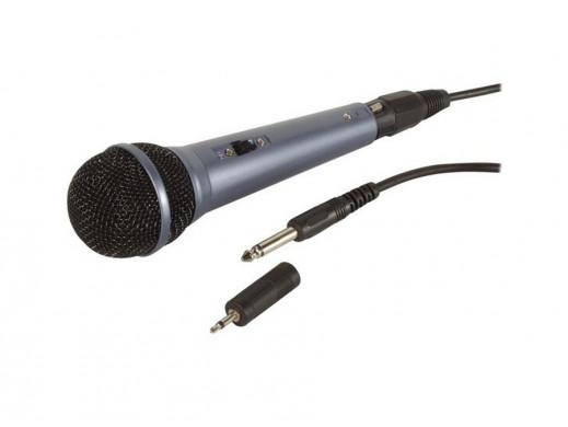 Mikrofon dynamiczny MIC3 HQ Power niebieski