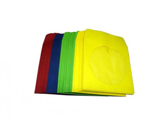 Koperty CD z okienkiem różne kolory
