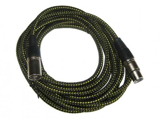 Kabel mikrofonowy gniazdo CANON-wtyk CANON 5m