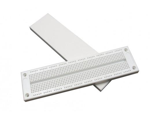 Płytka stykowa - prototyp 830 pól, rozstaw otworów 2,54mm, 16,5x5,4cm