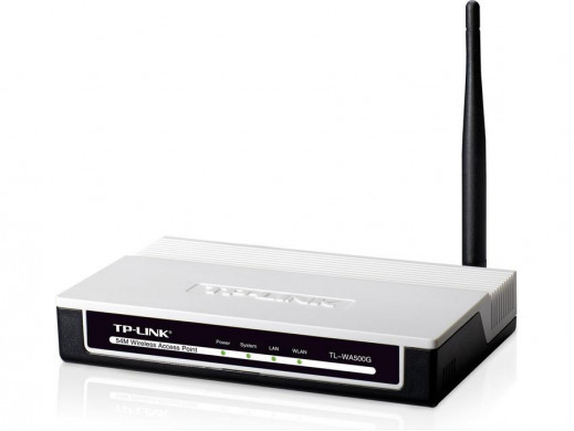 Access Point WiFi TP-Link TL-WA500G IEEE802.11b/g 54Mbps