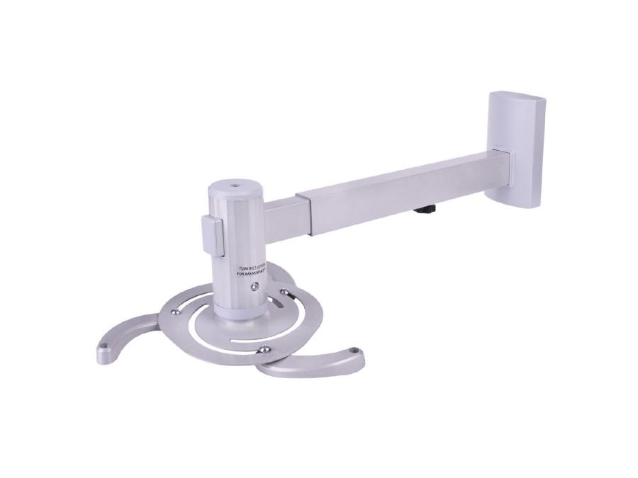 Uchwyt ścienny do projektora UCH0101 Cabletech srebrny