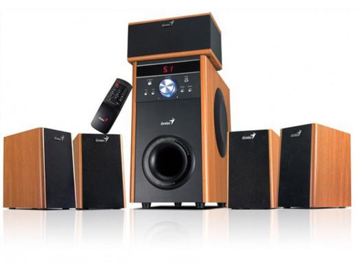 Głośniki komputerowe HI-FI SW-HF4000 100W Genius drewno