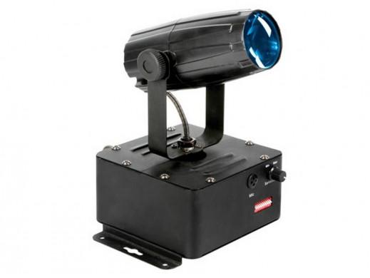Efekt świetlny Ruchoma głowa 1x3W Cree LED