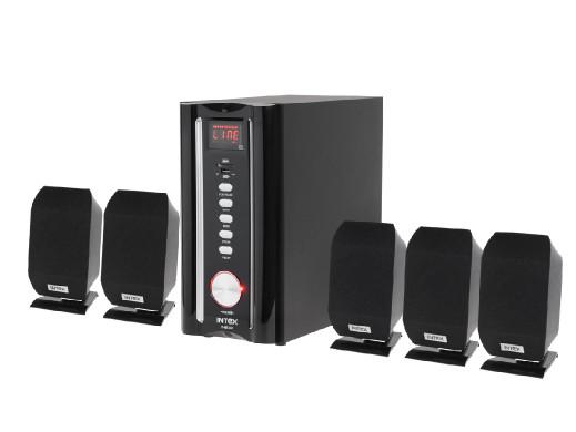 Zestaw głośników FM/SD/USB 5.1 4650W Intex