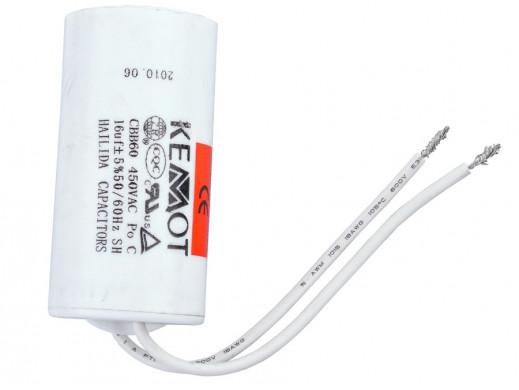 Kondensator 16uF 450V do...