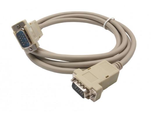 Przewód, kabel do monitora SVGA-SVGA 1,8m wtyk-wtyk Vitalco