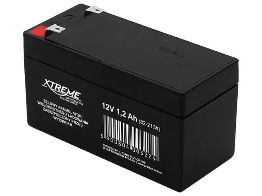 Akumulator żelowy 12V 1.3Ah Xtreme