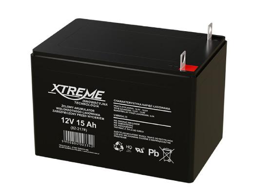 Akumulator żelowy 12V 15Ah...