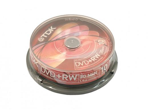 Płyta DVD+RW 1,4GB TDK