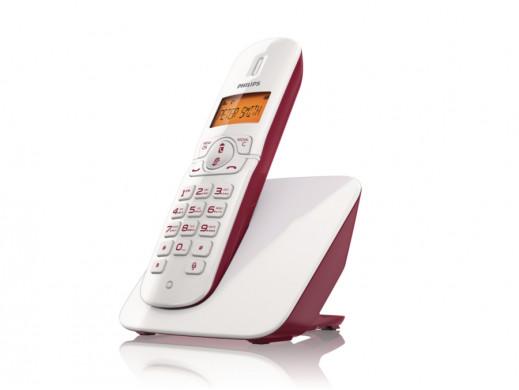 Telefon bezprzewodowy CD1801R/53 Philips