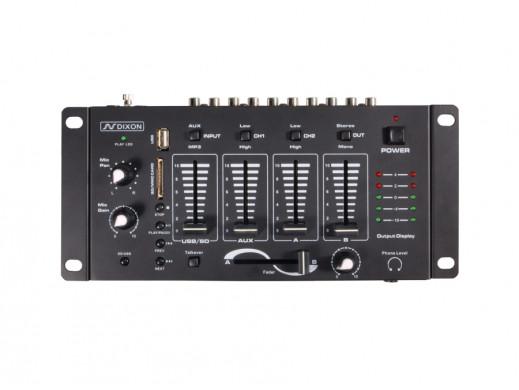 Mikser Dixon MIX-240 USB/SD